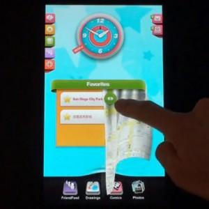 Velvet Tablet Interface