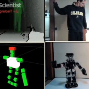 Kinect-Controlled Robot