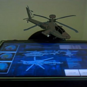 Multitouch dFusion with Vuzix Glasses