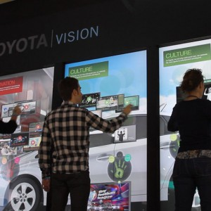 Toyota Vision Multi-Touch Wall