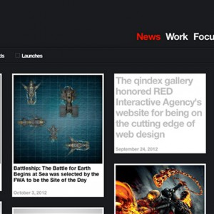 RED Interactive Agency Website