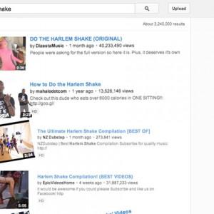 YouTube Harlem Shake Easter Egg
