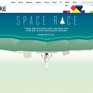 BBC – Space Race Interactive