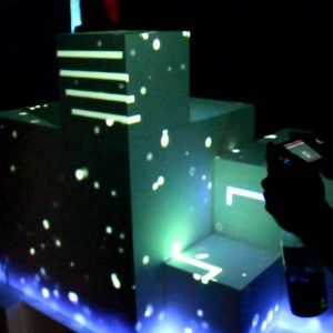 EELS 3D Projection Mapping Game